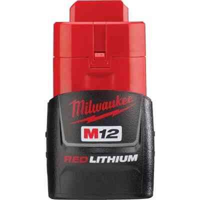 Milwaukee M12 REDLITHIUM 12 Volt Lithium-Ion 1.5 Ah Compact Tool Battery