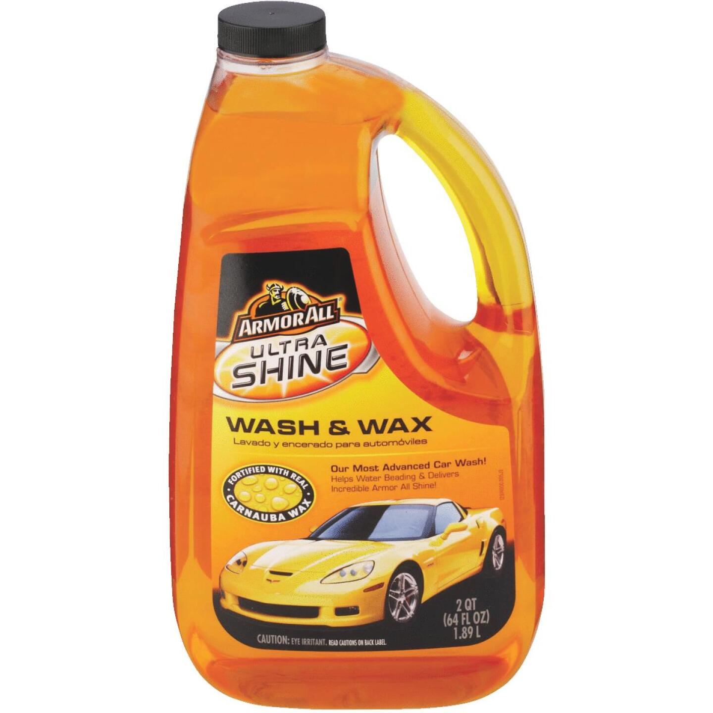 Armor All 64 Oz. Liquid Ultra Shine Car Wash & Wax Image 2