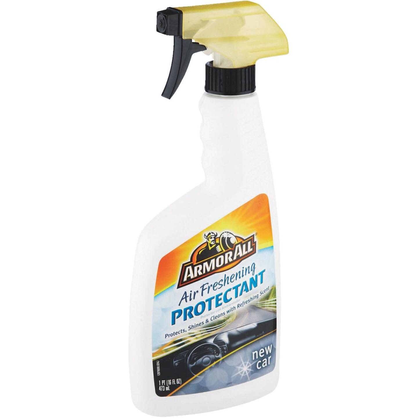 Armor All 16 Oz. Pump Spray Air Freshening Protectant, New Car Scent Image 2