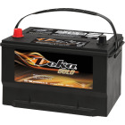 Deka Gold 12-Volt 850 CCA Automotive Battery, Top Post Left Front Positive Terminal Image 1