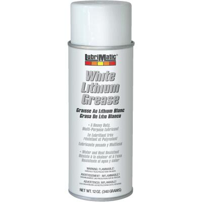 LubriMatic 12 Oz. Aerosol White Lithium Grease