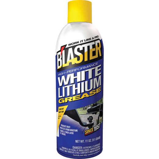 Blaster 11 Oz. Aerosol High-Performance White Lithium Grease