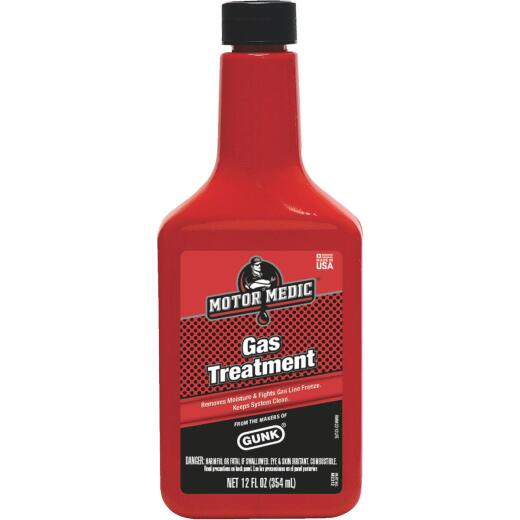 MotorMedic 12 Fl. Oz. Gas Treatment