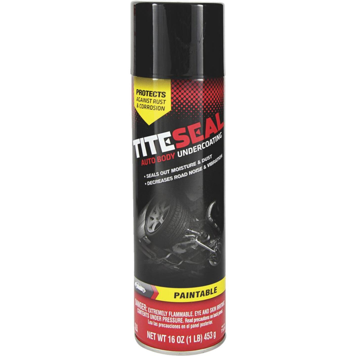 Tite-seal 16 oz Aerosol Spray Auto Undercoat Image 1