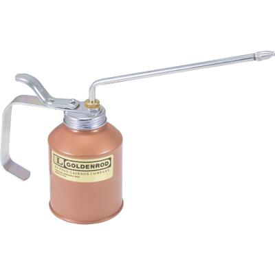 Goldenrod 12 Oz. Pump Oiler with 8 In. Angle Spout
