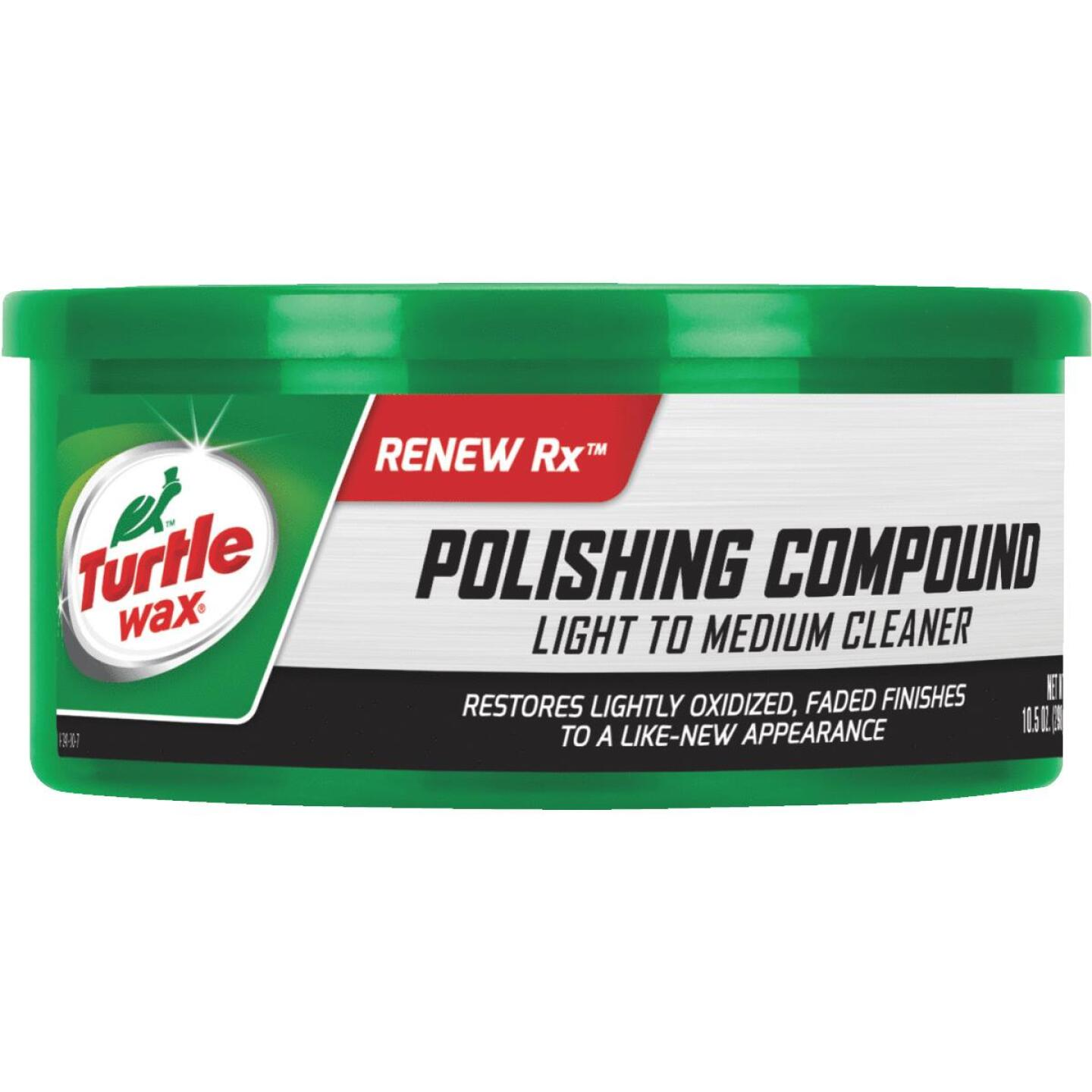 Turtle Wax RENEW Rx  10.5 oz Paste White Polishing Compound Image 1