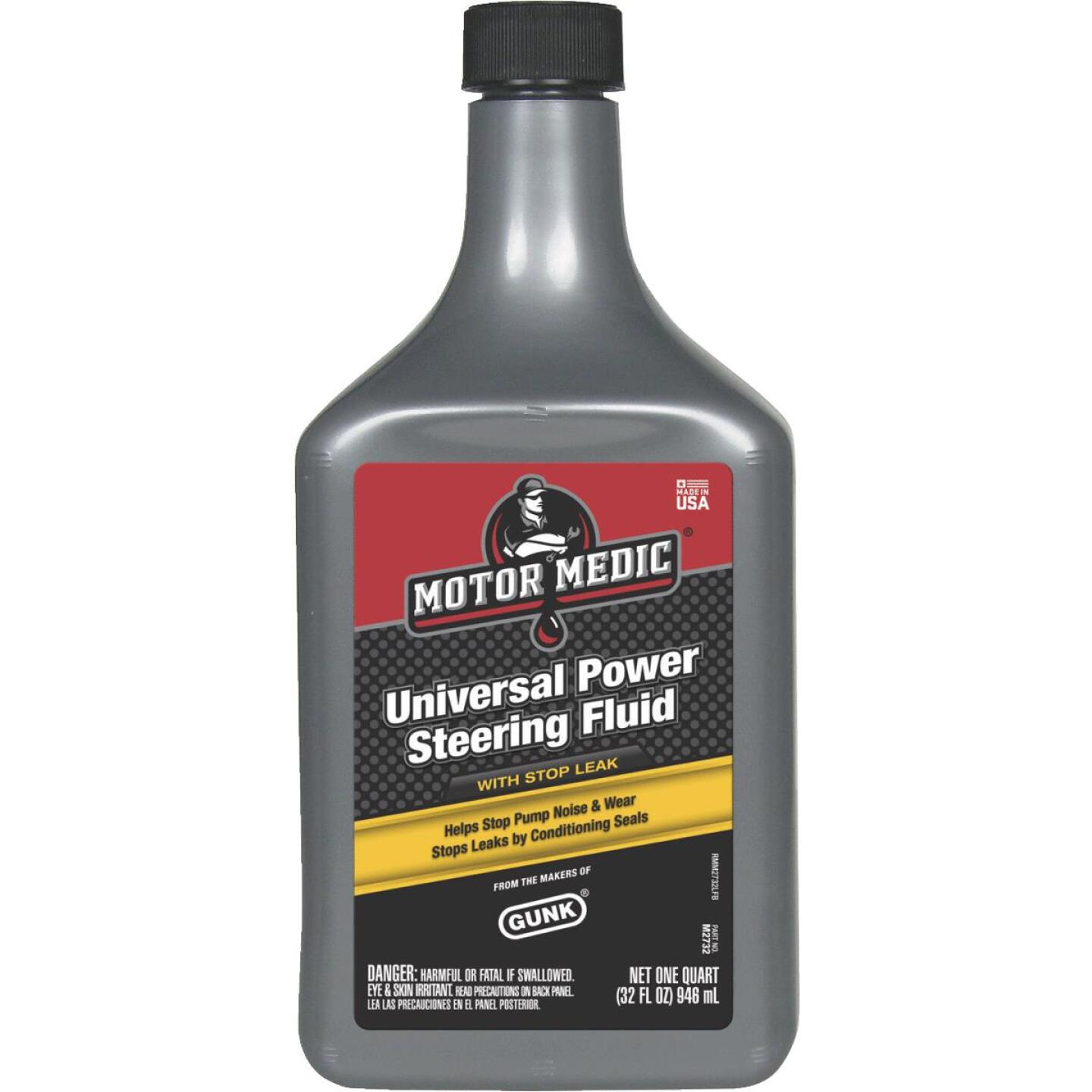 MotorMedic 32 Oz. Power Steering Fluid Image 1