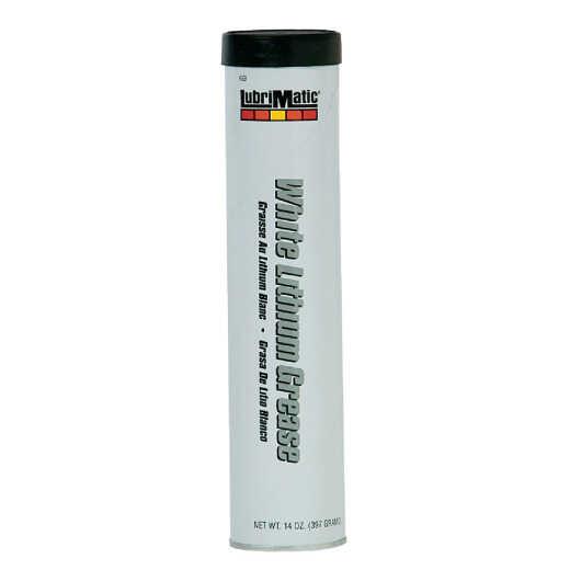 LubriMatic 14 Oz. Cartridge White Lithium Grease