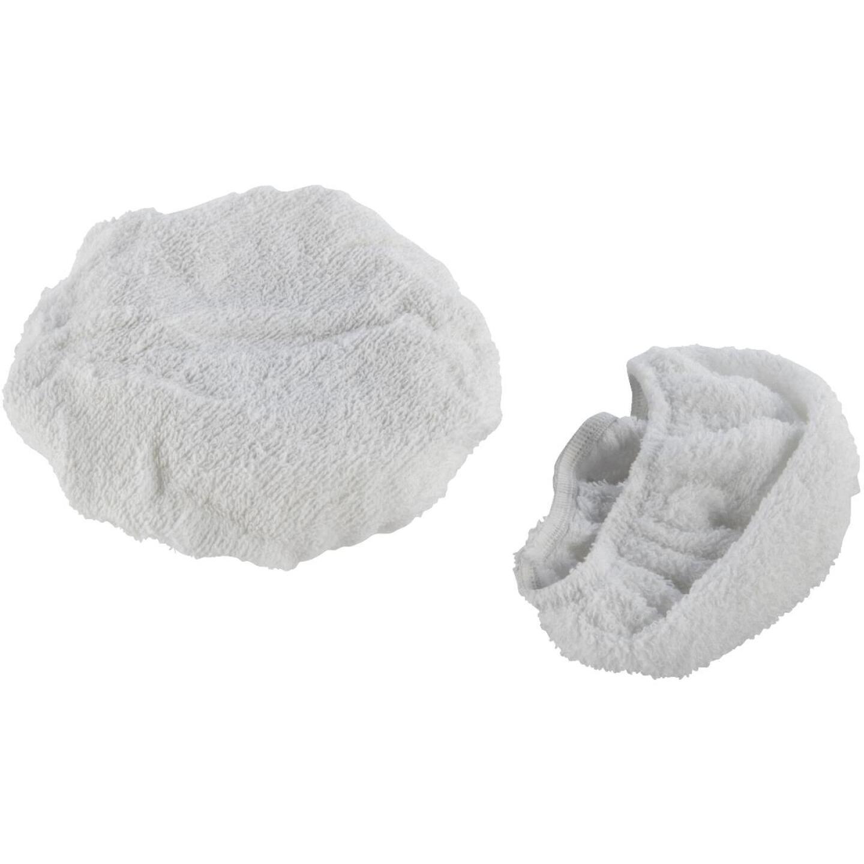 "Auto Spa 7"" To 8"" Washable Cotton Polishing Bonnet, (2-Pack) Image 1"
