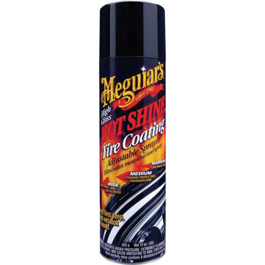 Meguiars Hot Shine 15 Oz. Trigger Spray Tire Coating