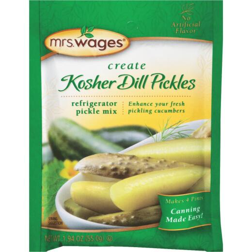 Mrs. Wages 1.94 Oz. Kosher Dill Refrigerator Pickling Mix