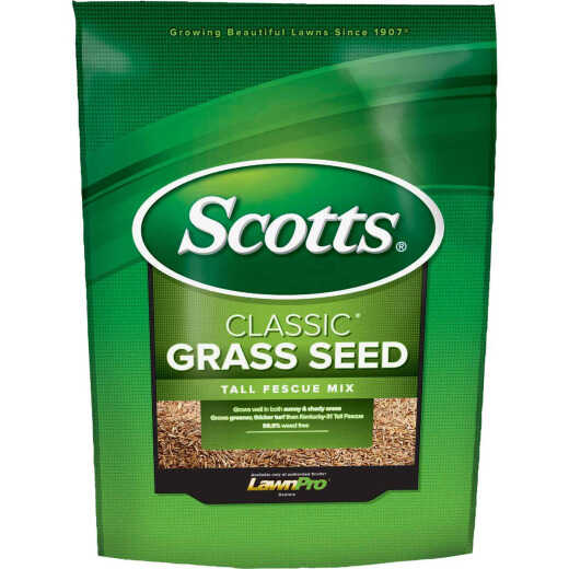 Scotts Classic 3 Lb. 650 Sq. Ft. Coverage Tall Fescue Grass Seed