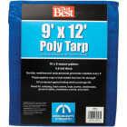 Do it Best Blue Woven 9 Ft. x 12 Ft. Medium Duty Poly Tarp Image 1