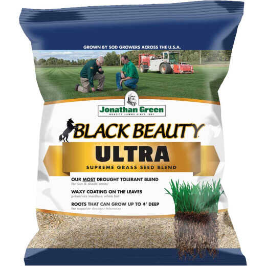 Jonathan Green Black Beauty Ultra 3 Lb. 600 Sq. Ft. Coverage Tall Fescue Grass Seed