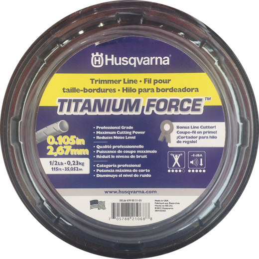Husqvarna Titanium Force 0.105 In. x 115 Ft. Trimmer Line