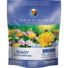 Earth Science  All-In-One 2 Lb. 200 Sq. Ft. Coverage Shady Wildflower Seed Mix Image 1