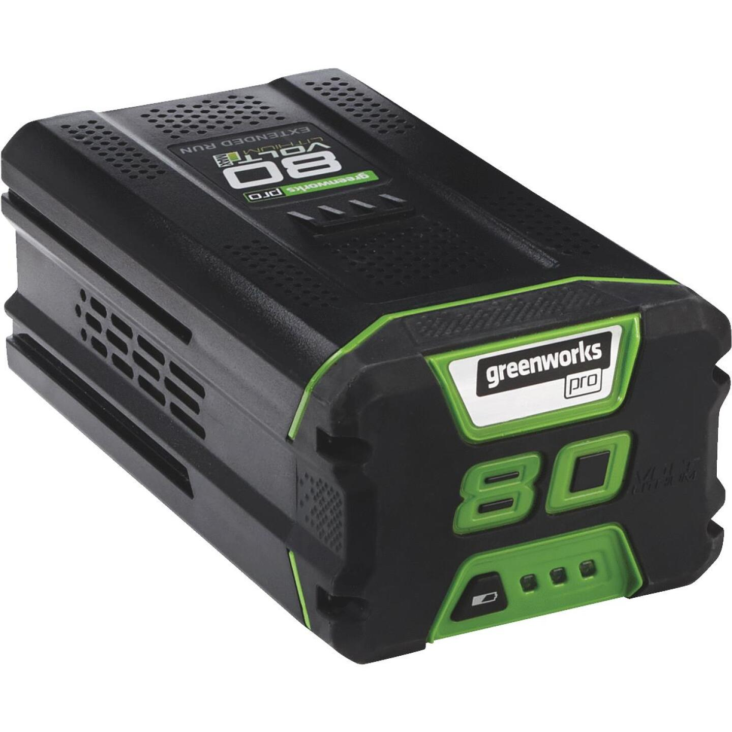 Greenworks Pro 80V 2AH Tool Replacement Battery Image 1