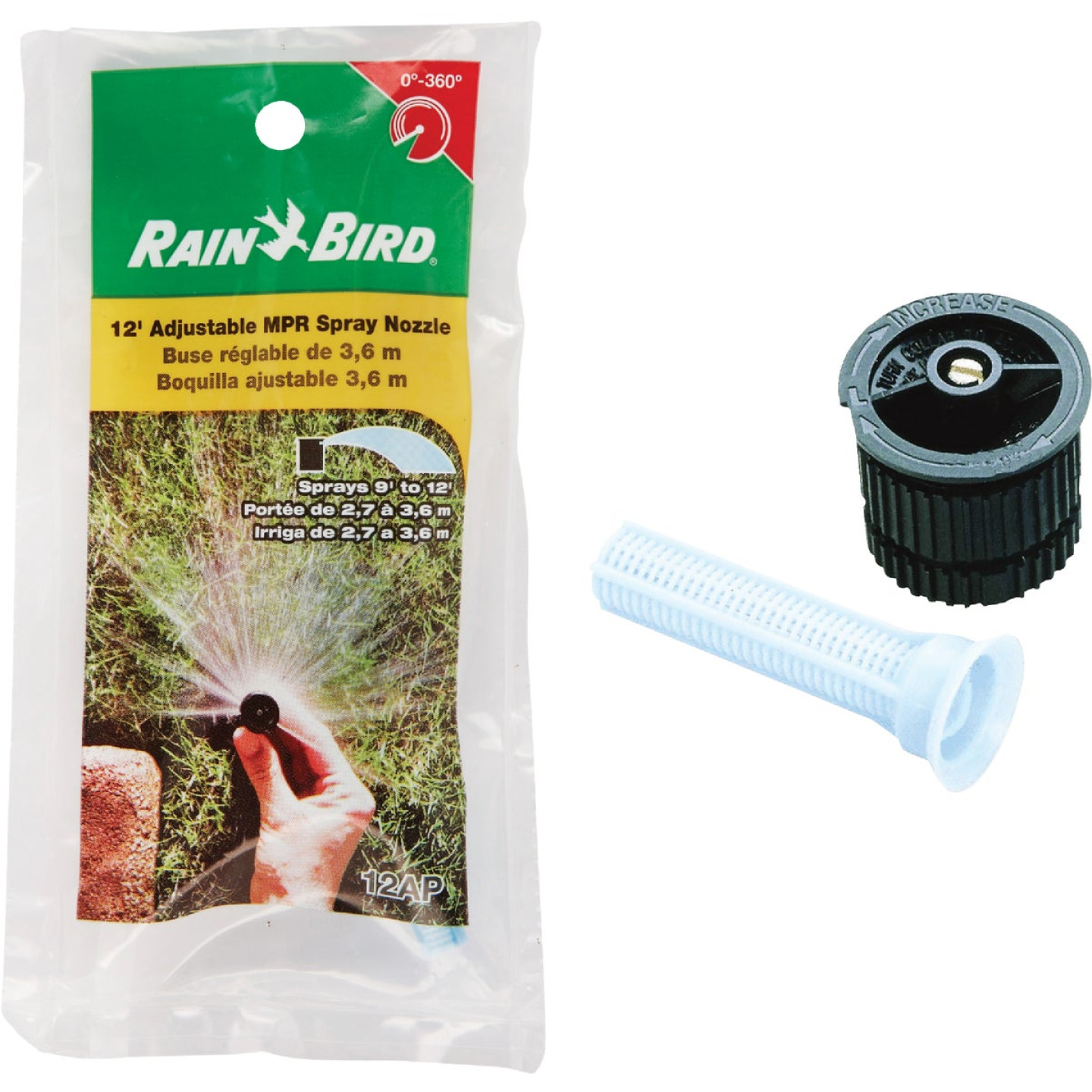 Rain Bird Adjustable 360 Deg. Spray Replacement Nozzle Image 1