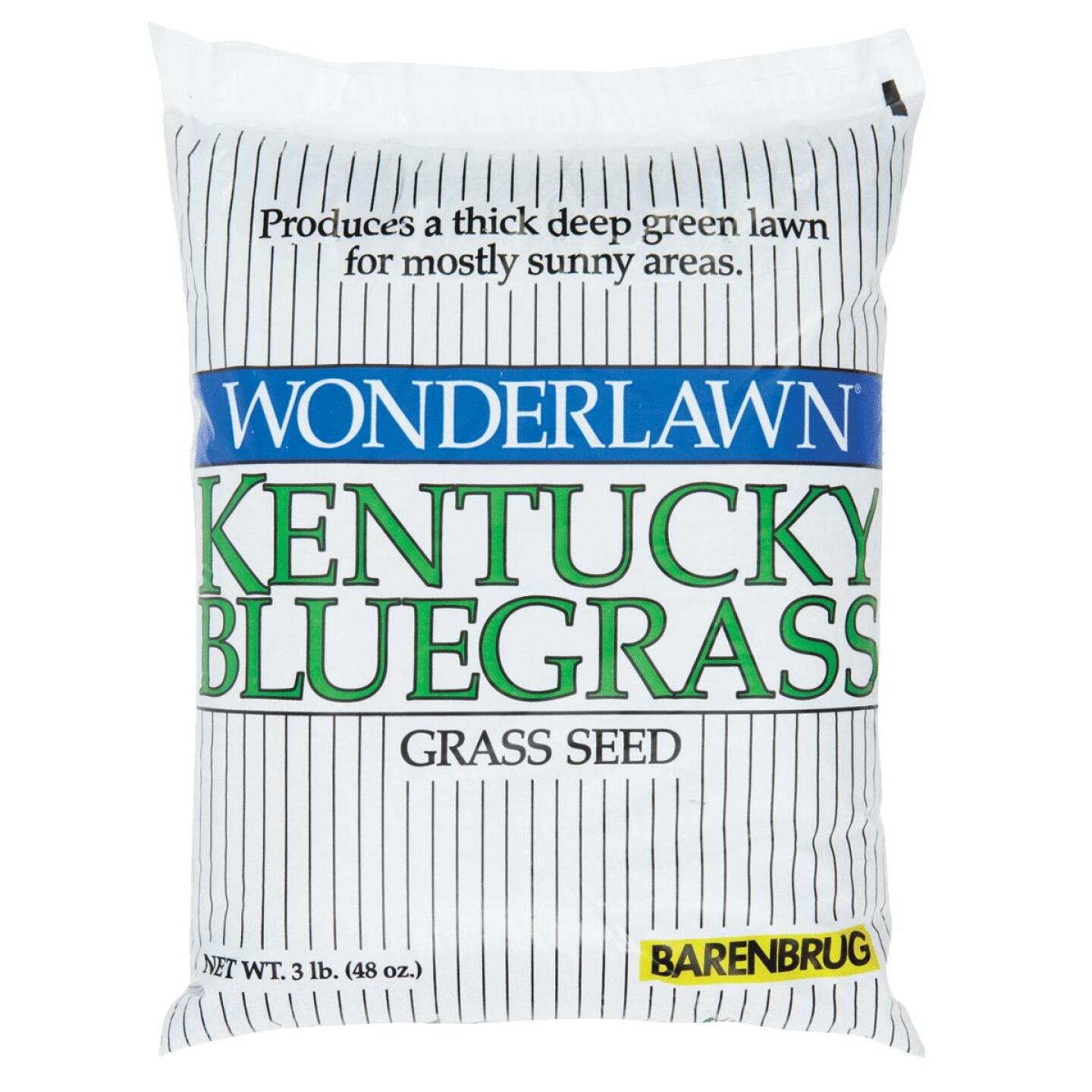 Wonderlawn 3 Lb. 1500 Sq. Ft. Coverage Kentucky Bluegrass Grass Seed Image 1