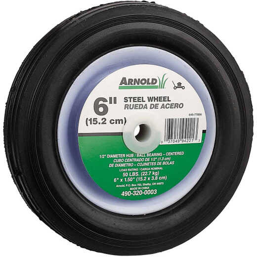 Arnold 6x1.5 Narrow Hub Wheel