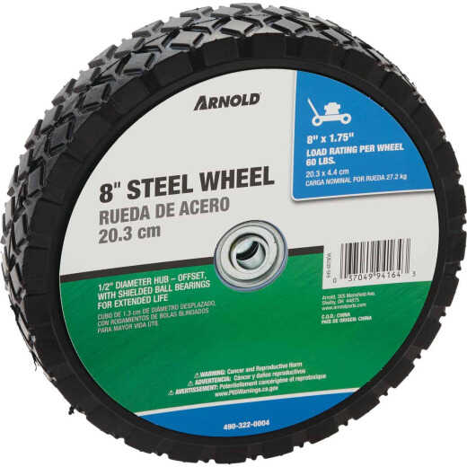 Arnold 8x1.75 Offset Hub Wheel