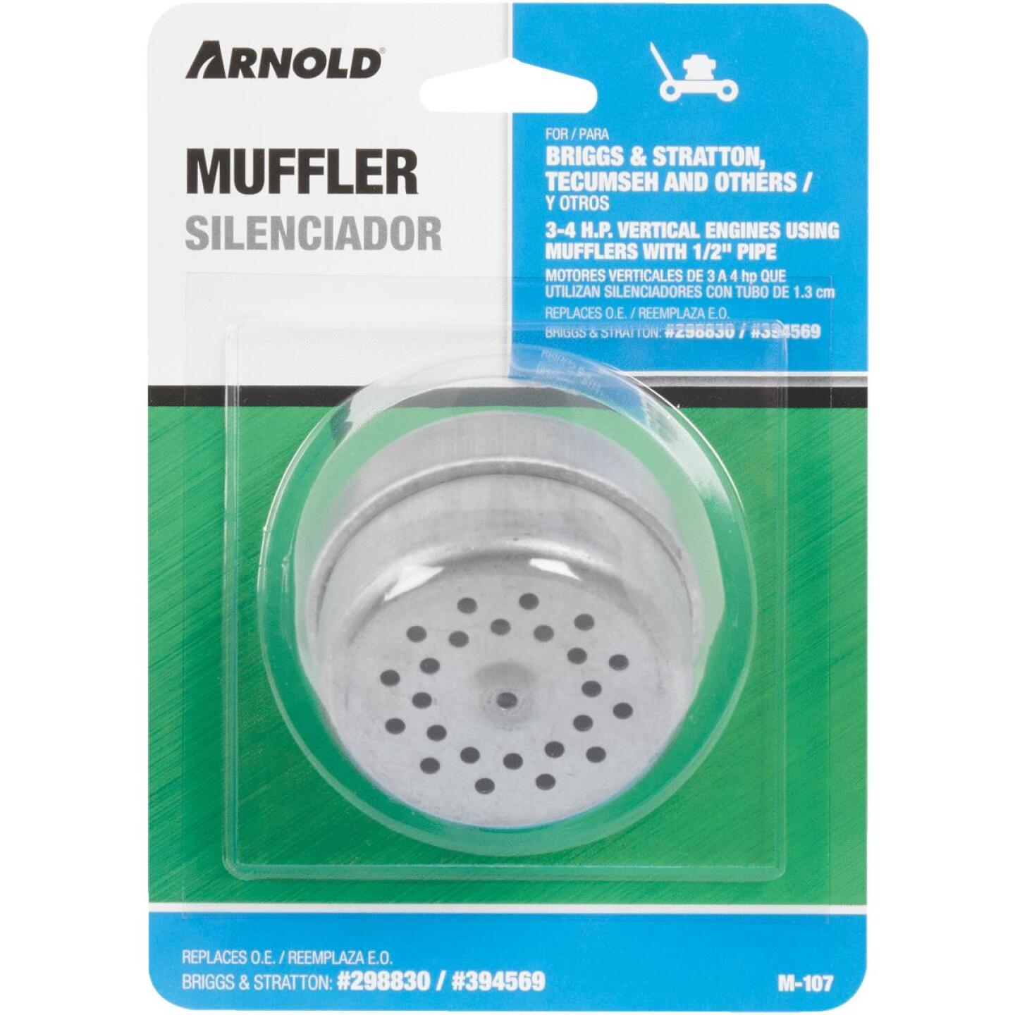 Arnold 2-1/4 In. 3 to 4 HP Vertical Engine Muffler Image 2