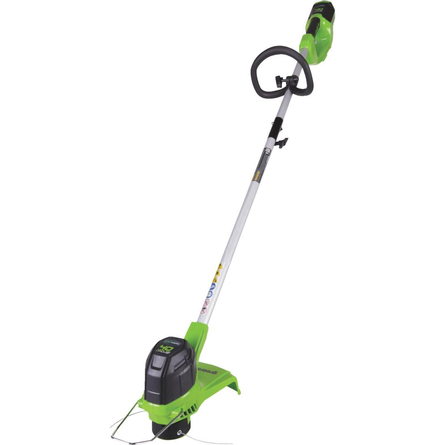 Greenworks G-Max 40V 12 In. Lithium Ion Straight Cordless String Trimmer Image 1