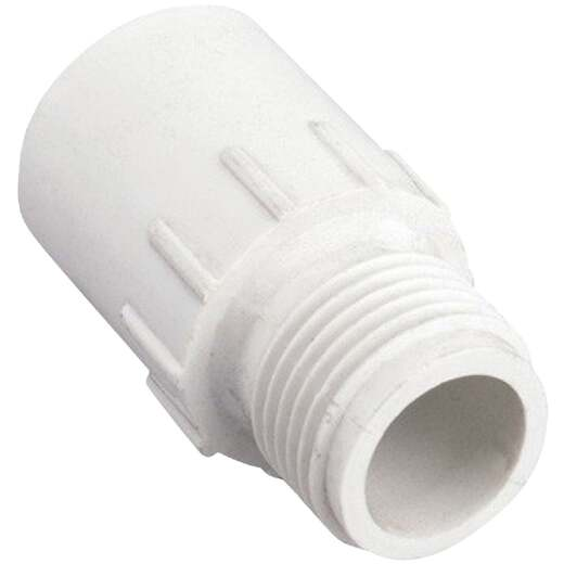 Orbit 3/4 In. MHT x 3/4 In. Slip PVC Hose Adapter