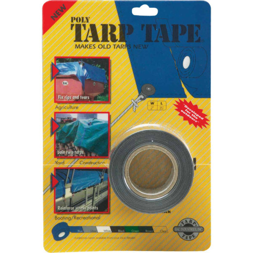 Gosport 35 Ft. x 2 In. Silver Tarp Repair Tape