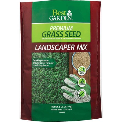 Best Garden 5 Lb. 750 Sq. Ft. Coverage Sun to Partial Shade Grass Seed