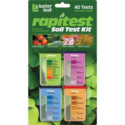 Rapitest Plastic Soil Tester Kit (4-Pack)