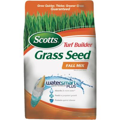 Scotts Turf Builder 3 Lb. Up To 1200 Sq. Ft. Coverage Thermal Blue KY Bluegrass Fall Mix Grass Seed