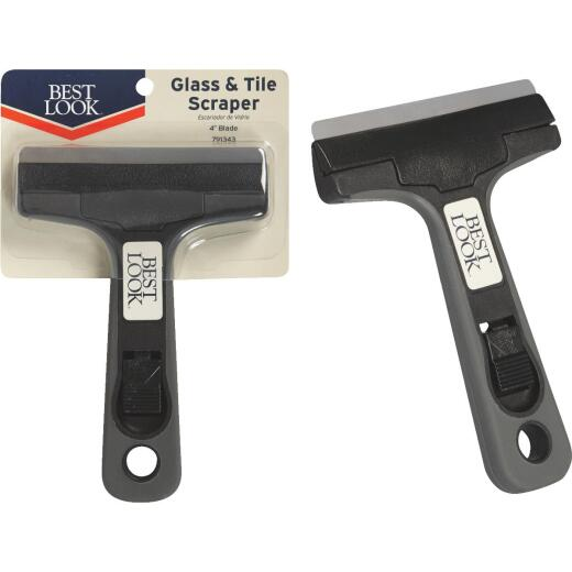 Best Look 4 In. Glass & Tile Razor Scraper